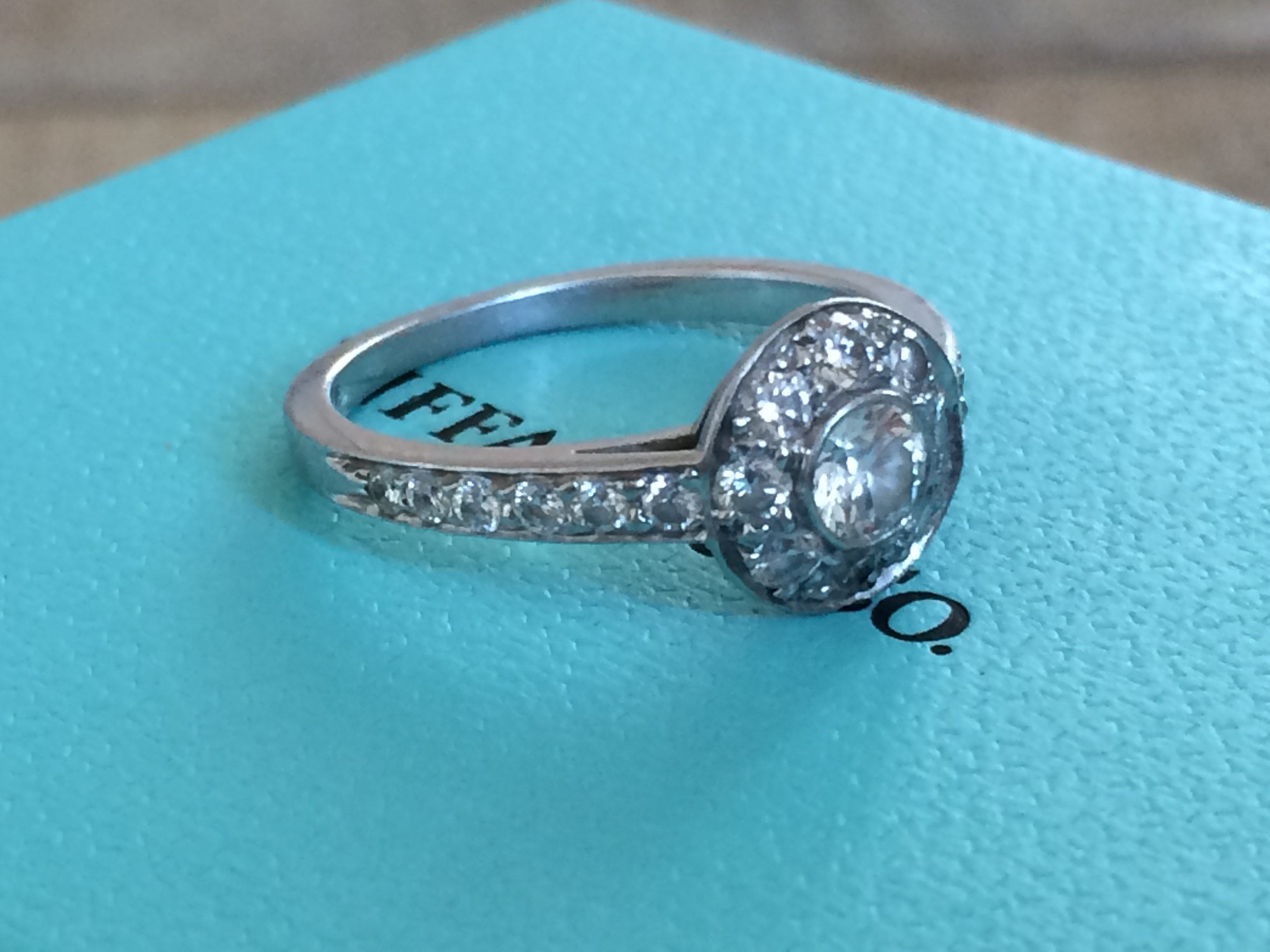 7b9ba21ea6da1 Tiffany & Co Circlet Engagement Ring