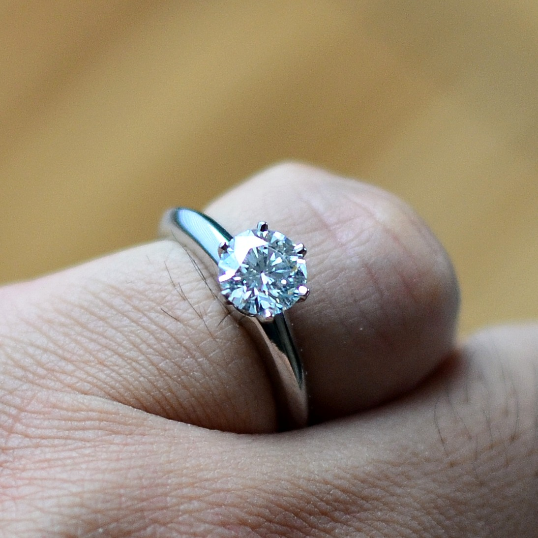 1 carat wedding ring price