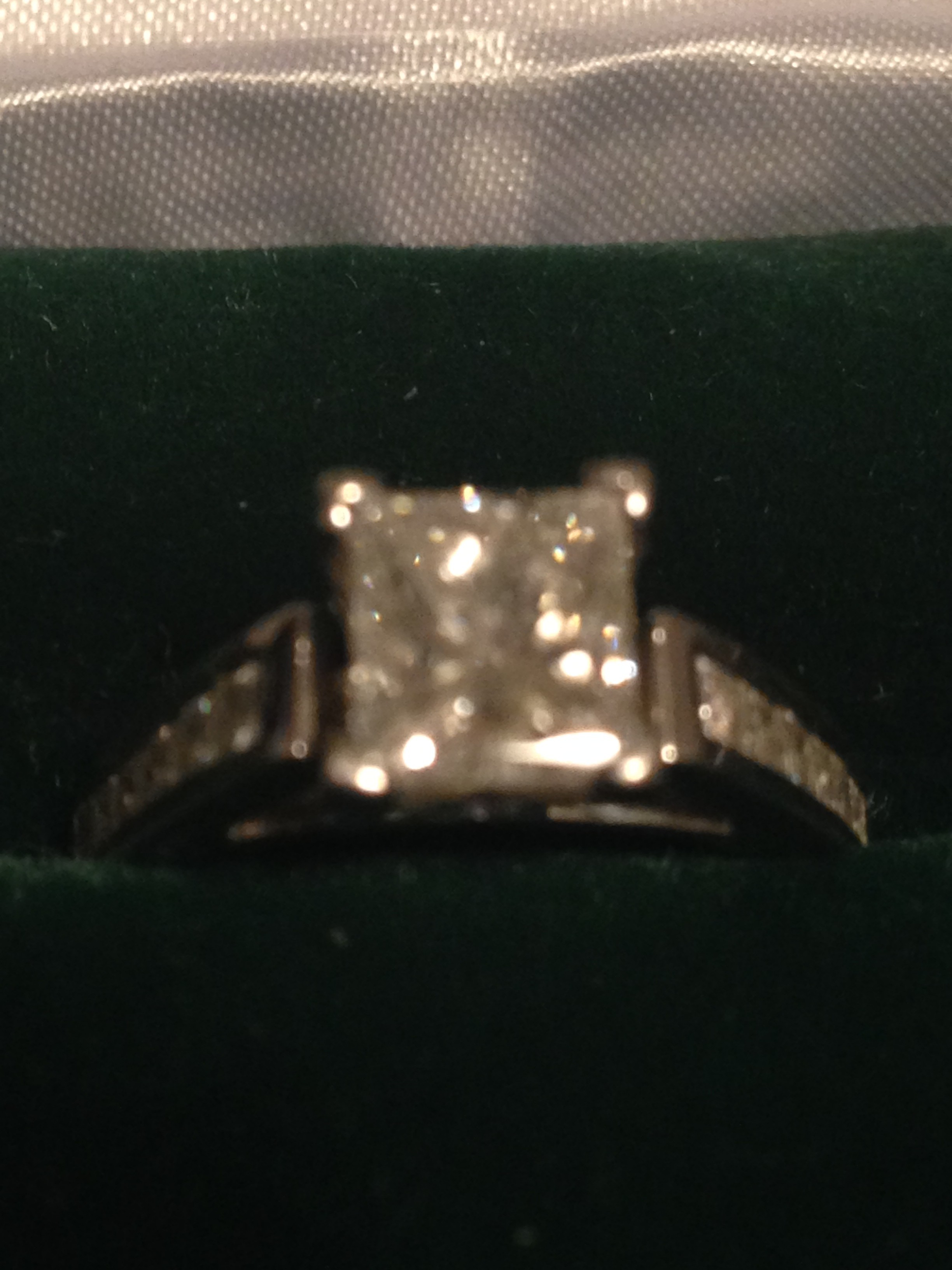 GIA Certified Diamond Engagement