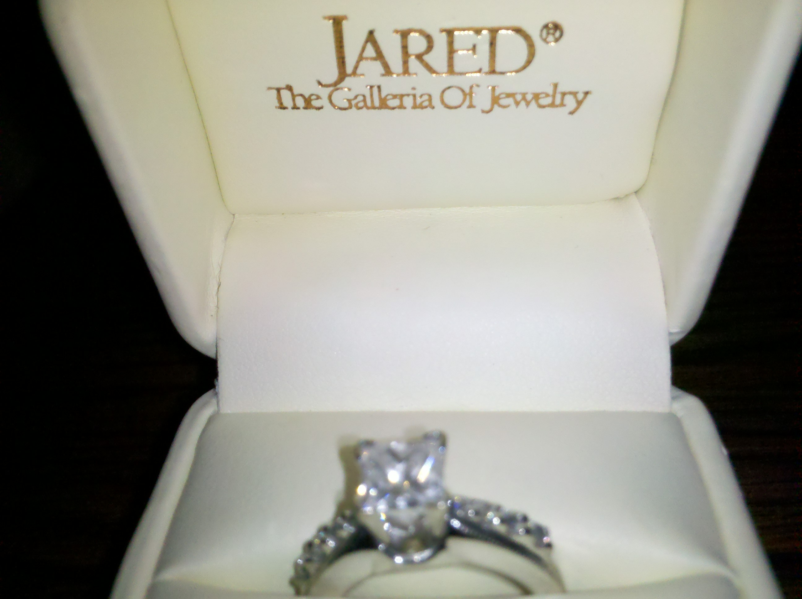 Jared S Engagement Ring I Do Now I Don T