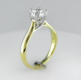 8210780f66a974 1.357 carat diamond in a Vatche Royal Crown setting | I Do Now I Don't