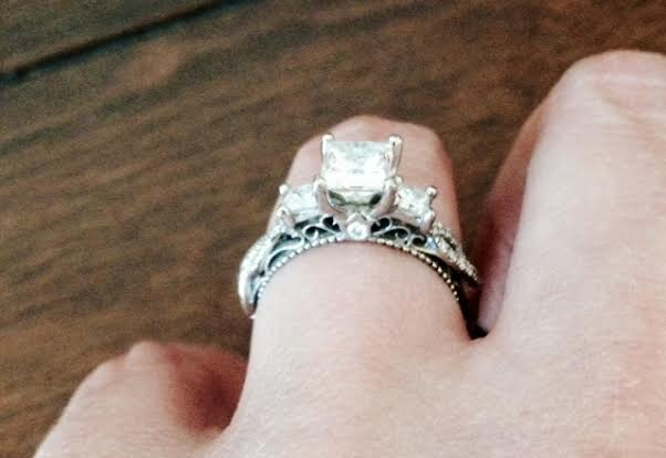 If She's Worth Everything, This is Her Ring! Stunning Robbins Brothers Engagement Ring! | I Do Now I Don't