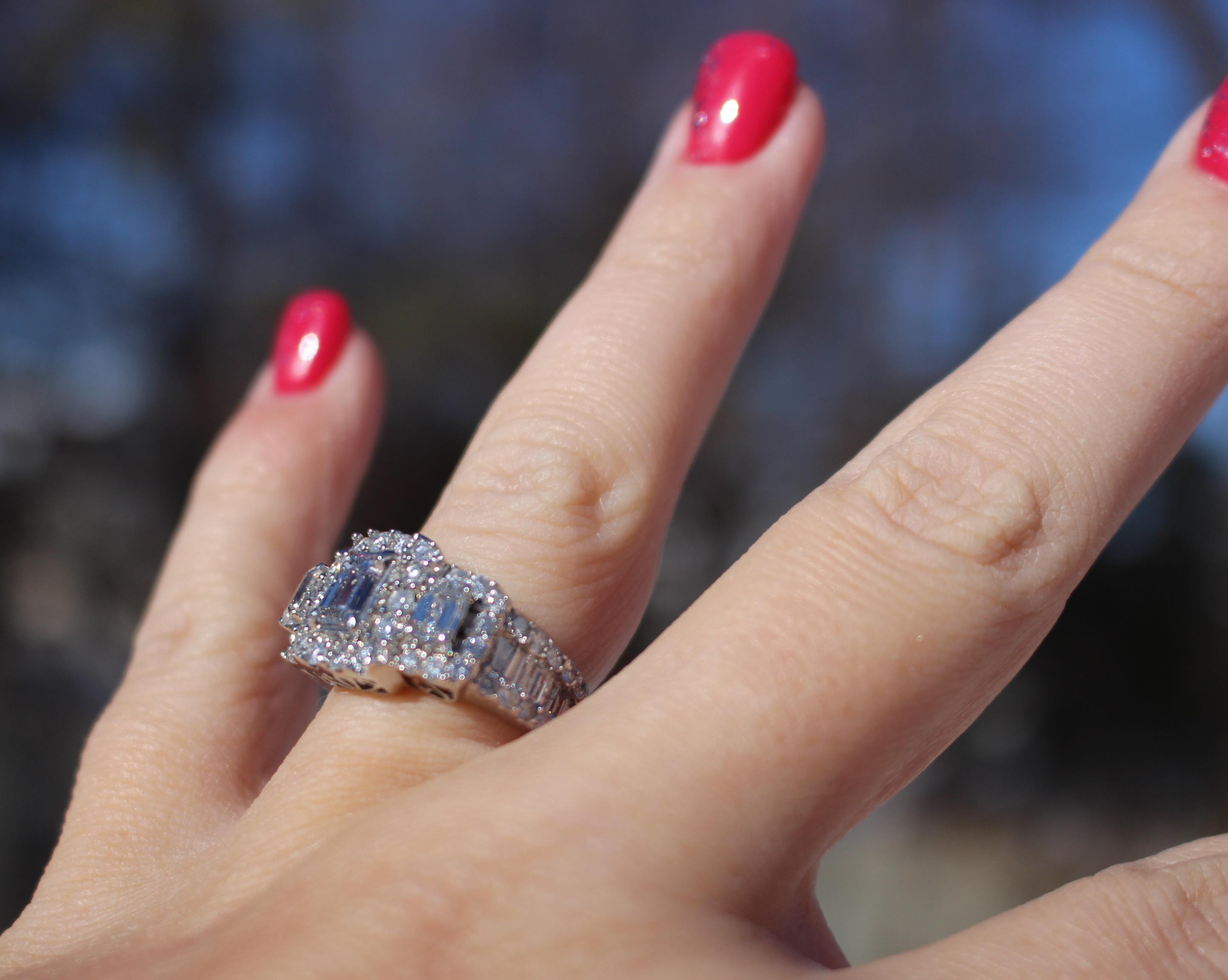 3 Carat Emerald Cut Engagement Ring I Do Now I Don T