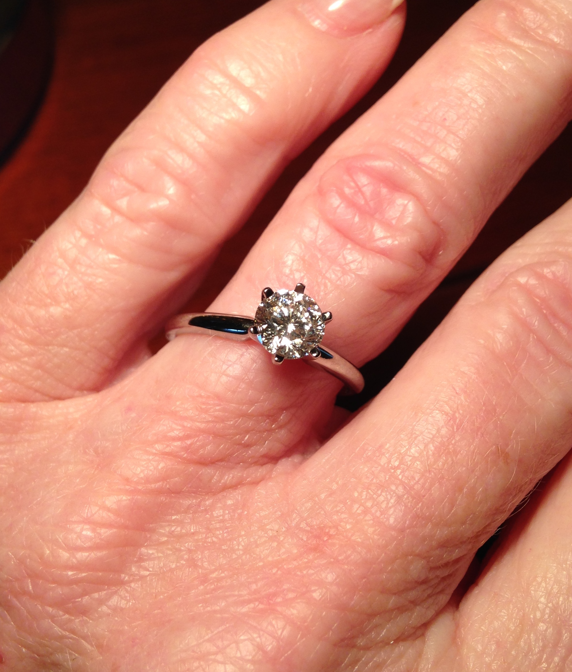 Helzberg Radiant Star 1ct Solitaire Diamond Engagement Ring 14k White Gold I Do Now I Don T