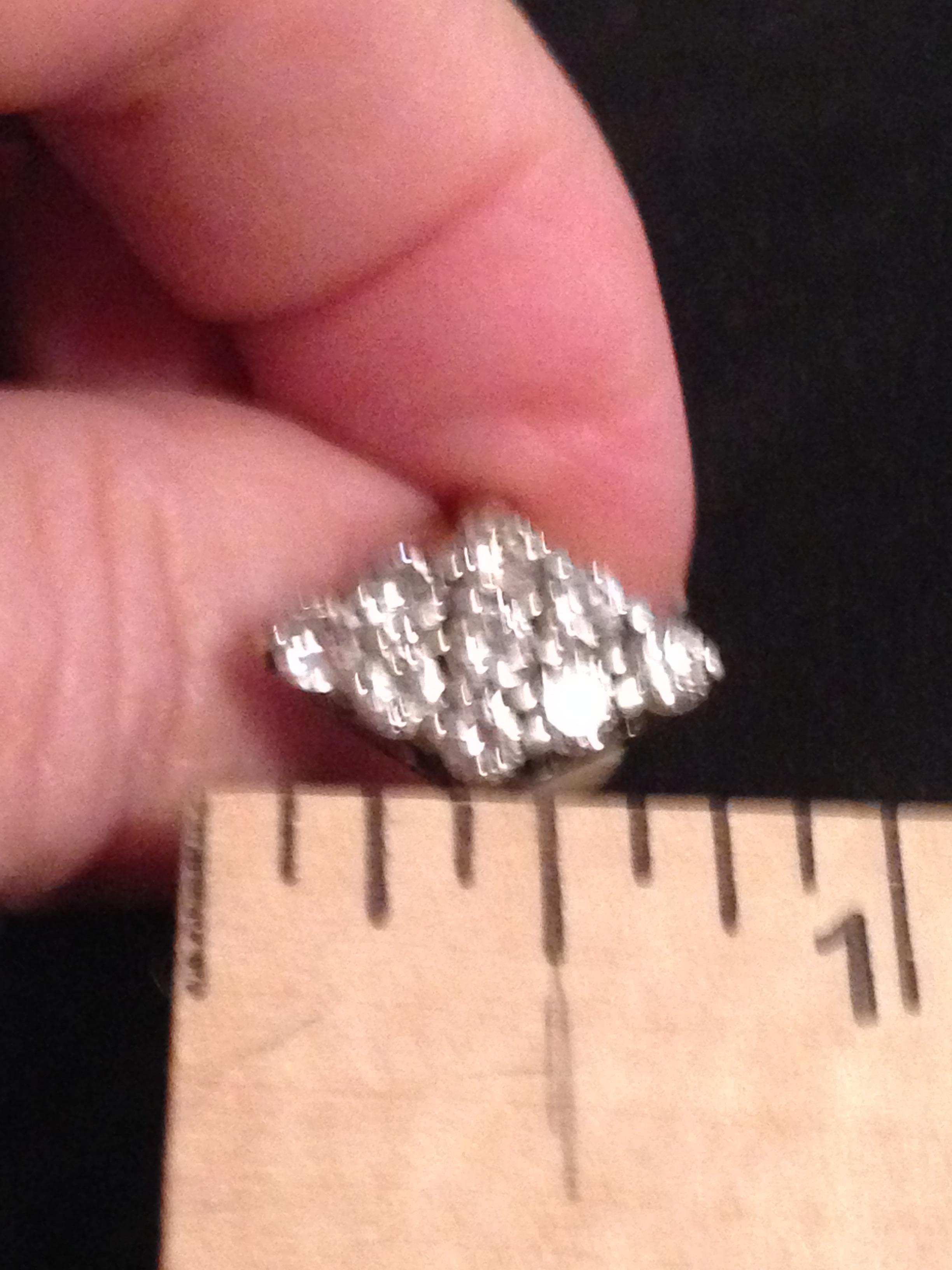 Marquis Shaped Cluster Engagement Or Dinner Ring I Do Now I Don T