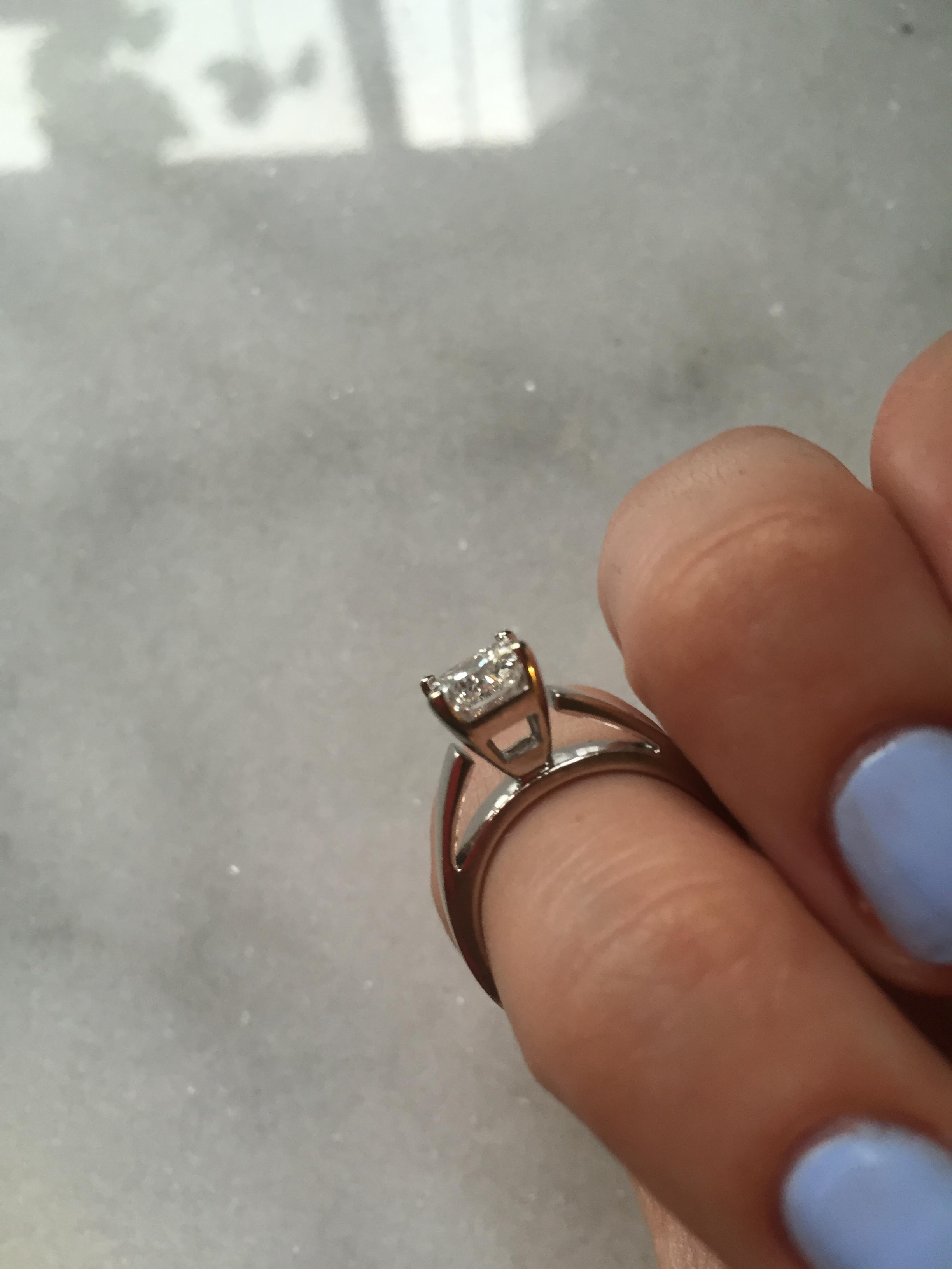 1.00 ct Solitaire Princess