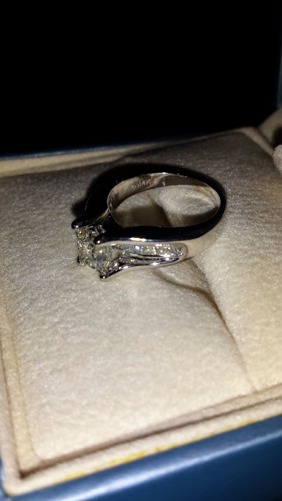 Forevermark Princess Diamond Engagement