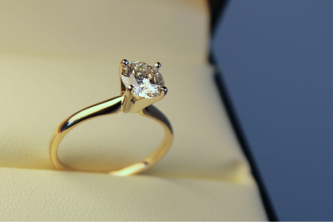 Gorgeous 1.01 CT Solitaire