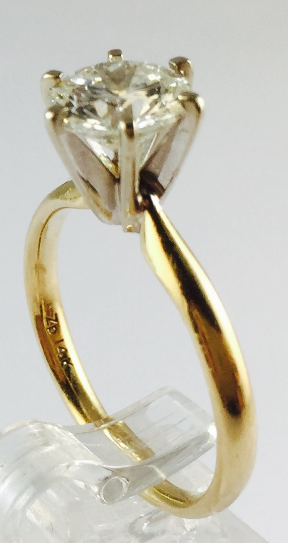 14K Two Tone Gold