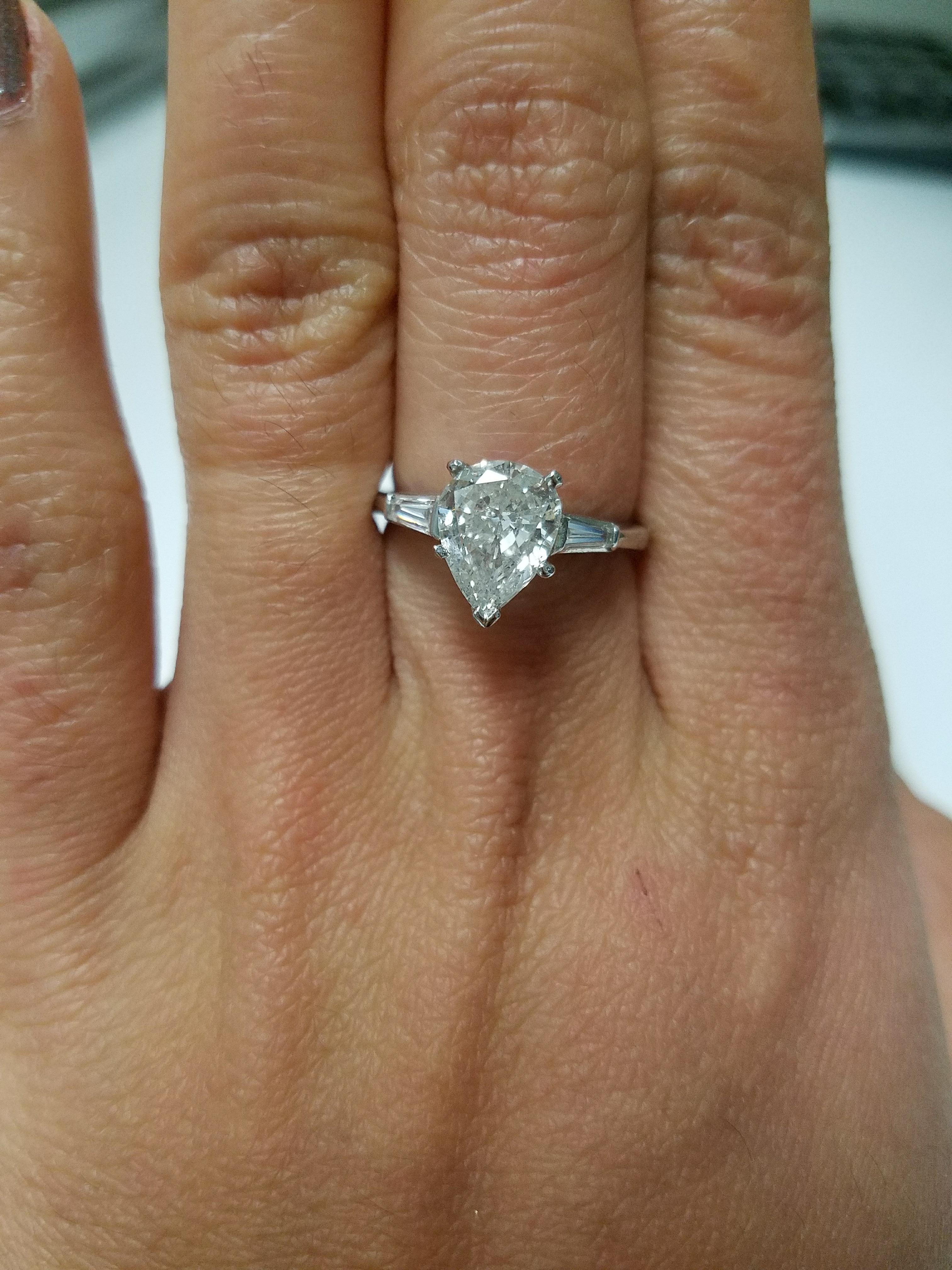 Pear Shape Engagement and