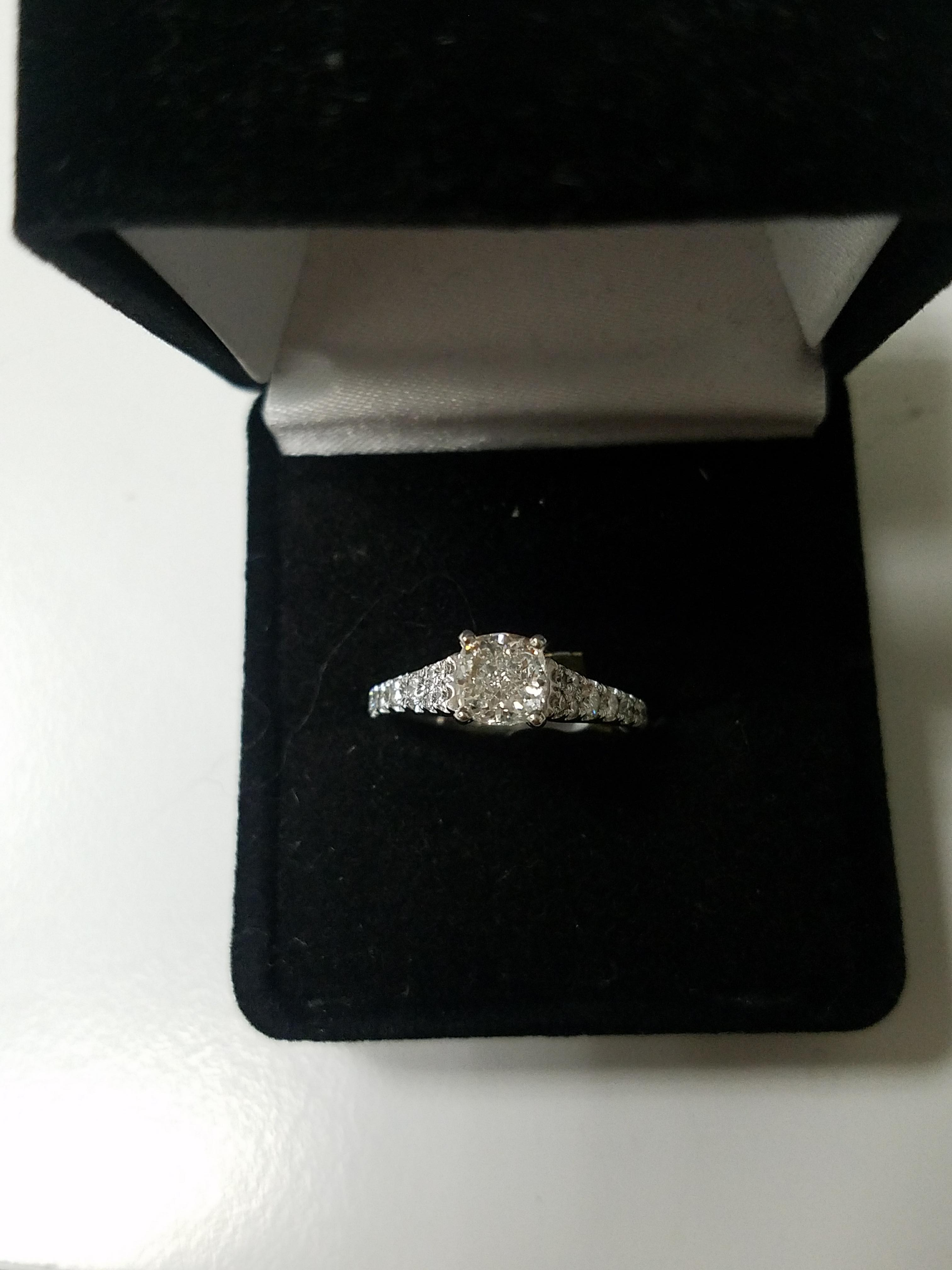GIA Certified, Cushion Cut