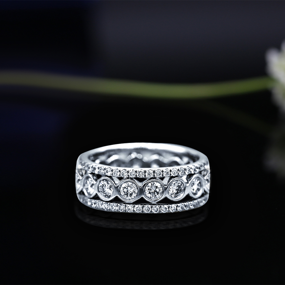 Platinum Eternity band features