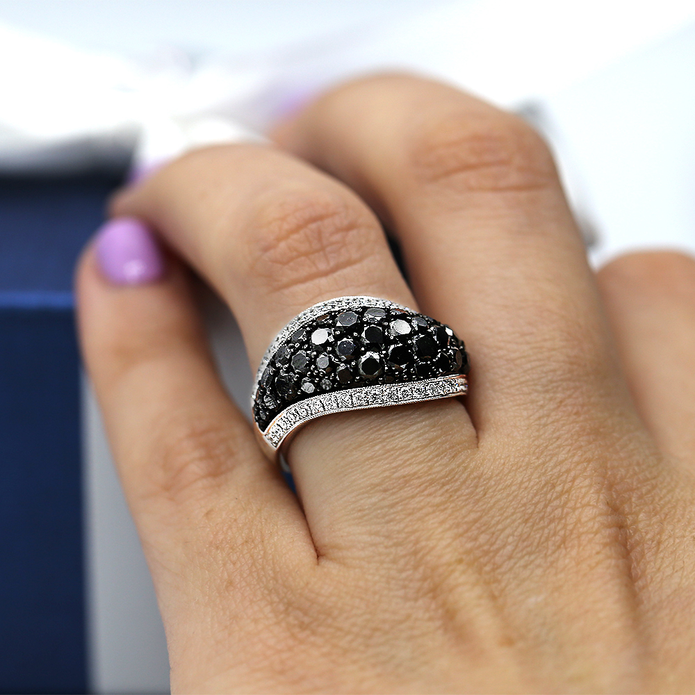 Classic Cocktail Ring features