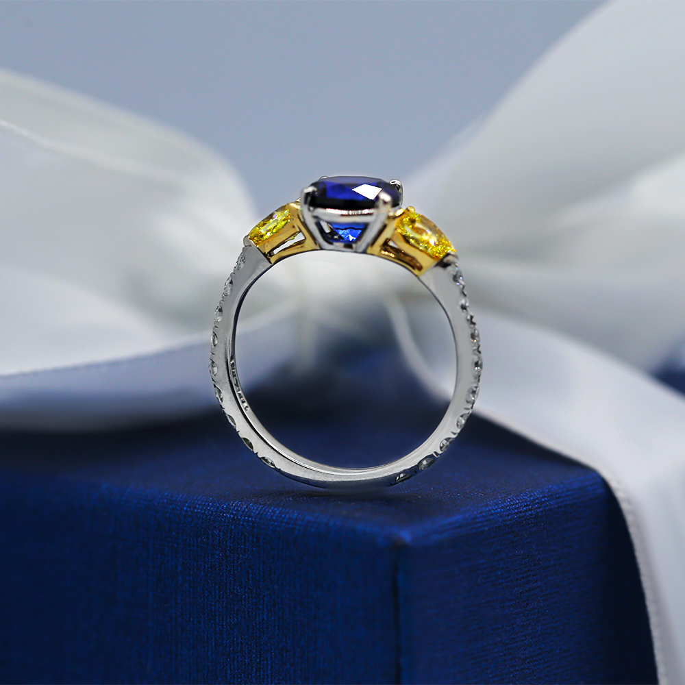 Elegant Engagement Ring with