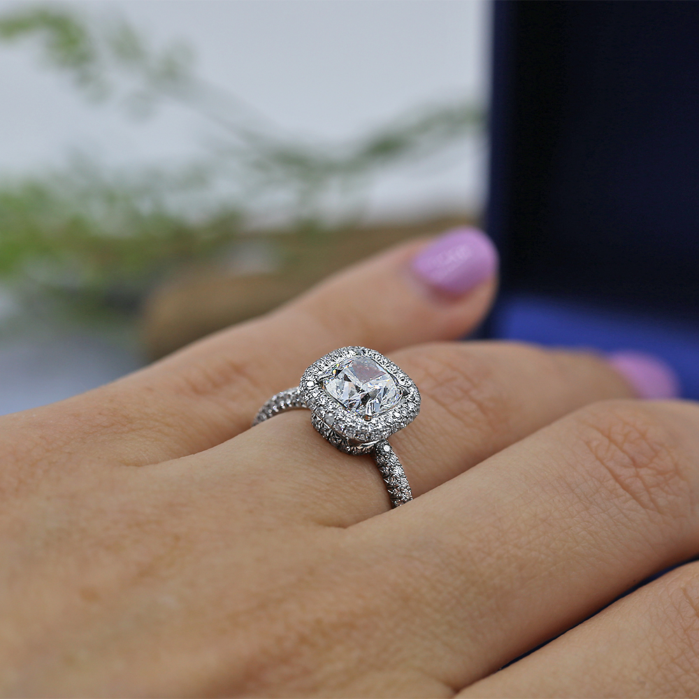 Beautiful Platinum Engagement Ring