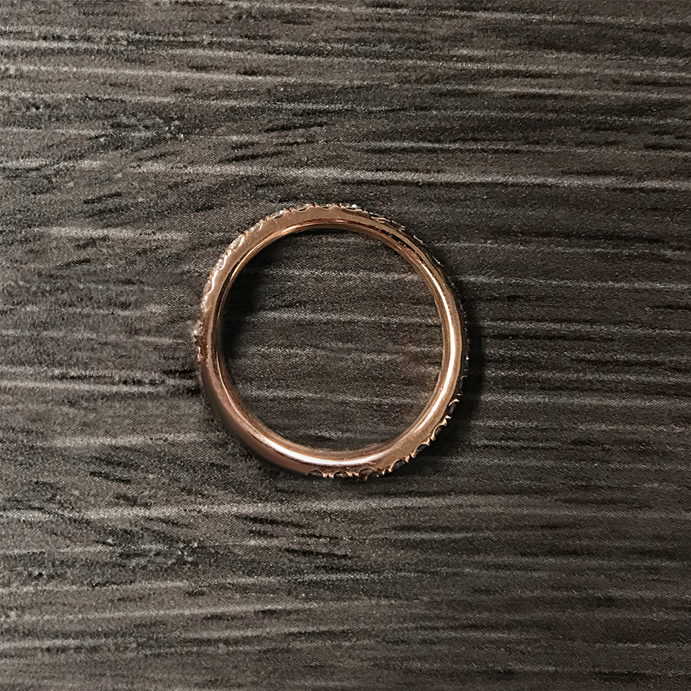 Delicate Rose Gold Engagement
