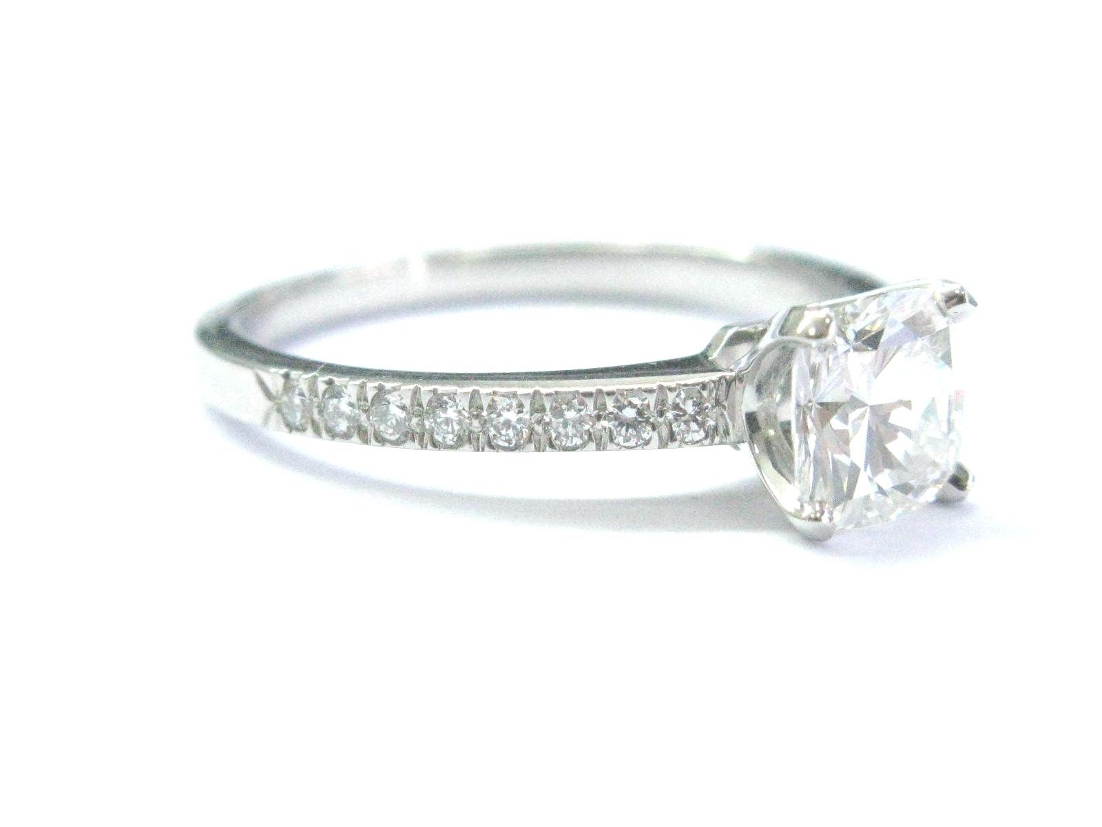 955fe8c4b9cf1 Tiffany & Co Platinum Novo Diamond Engagement Ring H-VS1 1.23CT