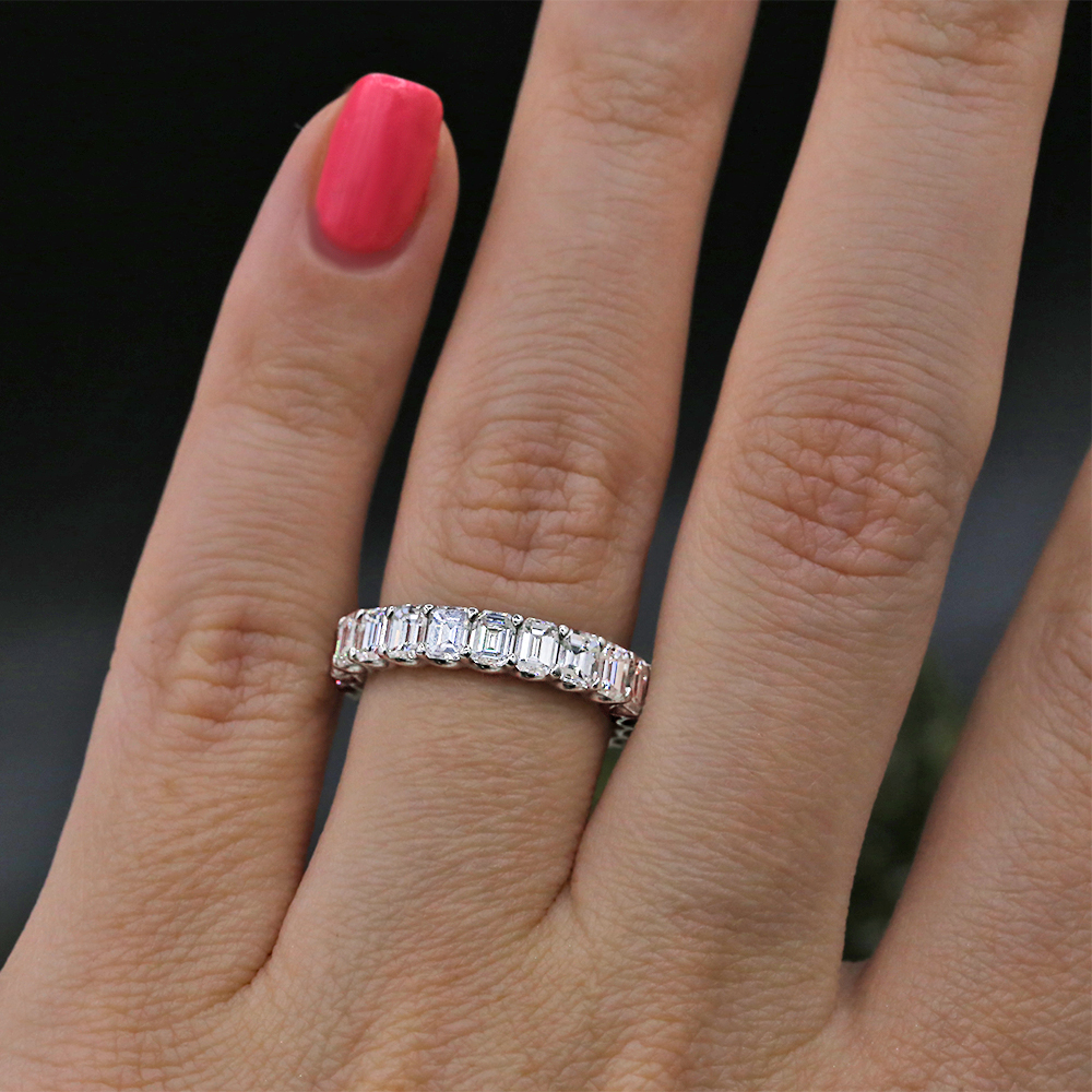 Diamond Eternity Band features