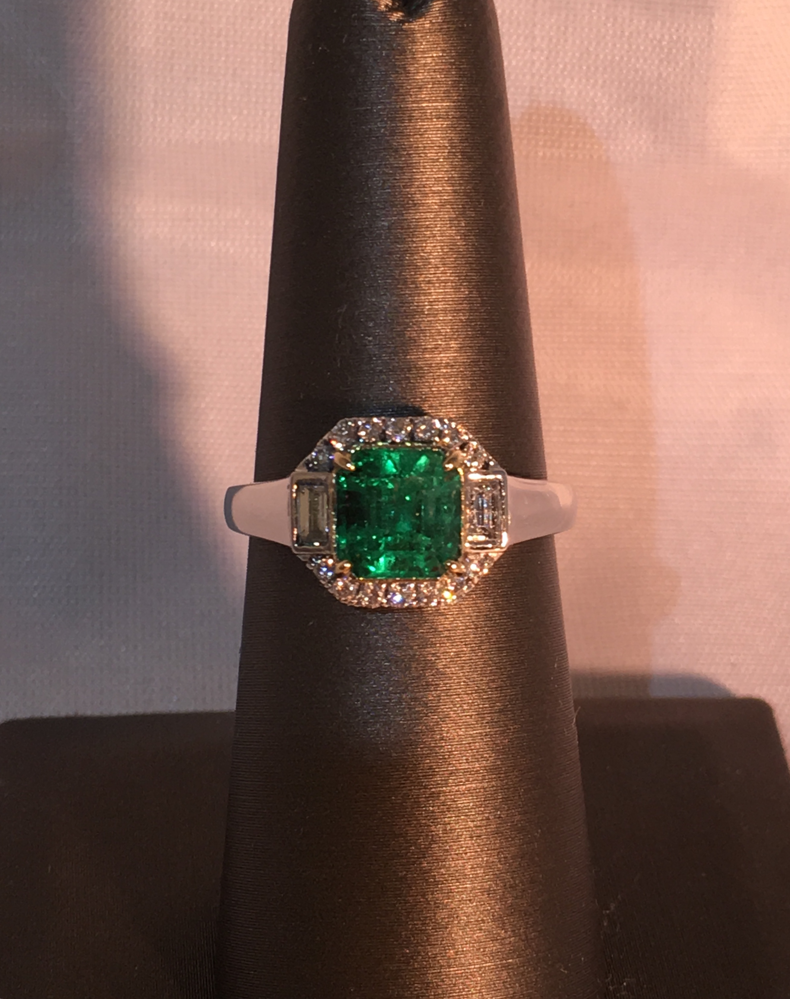 Colombian Emerald & Diamond