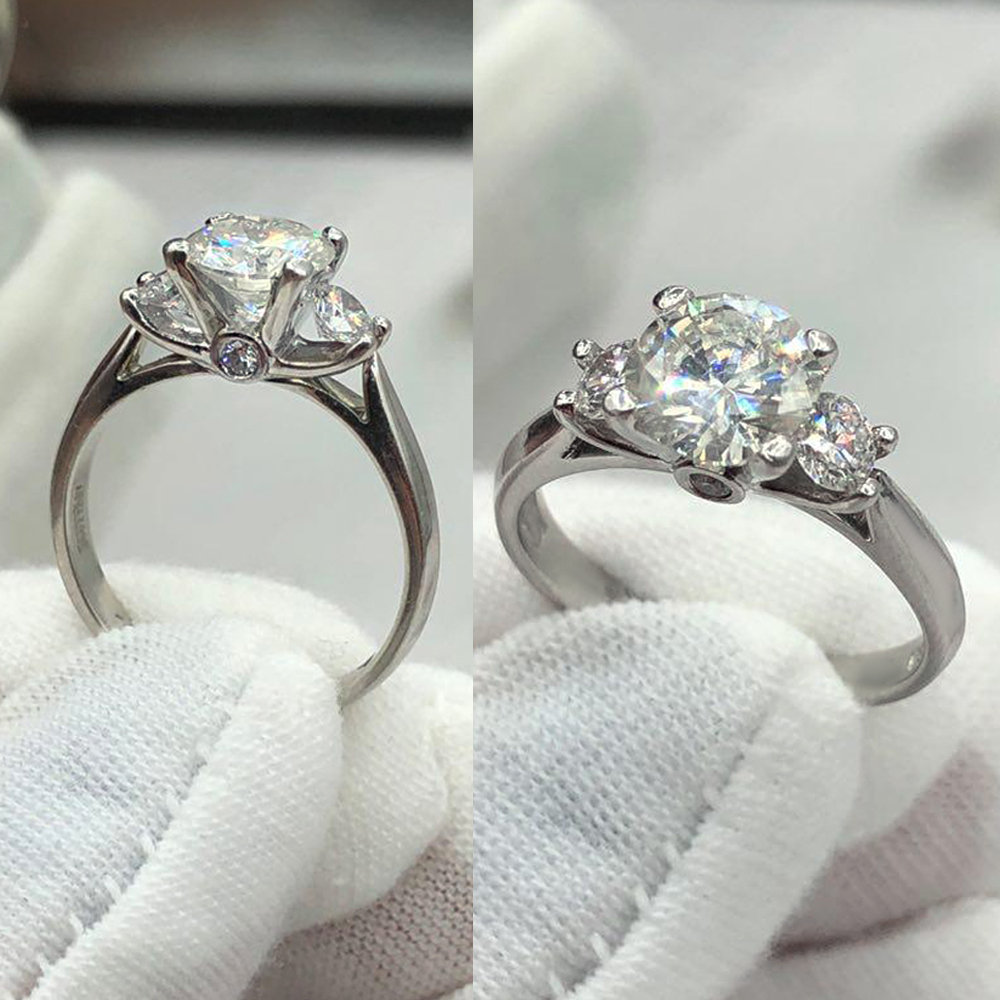Engagement Ring with Canter