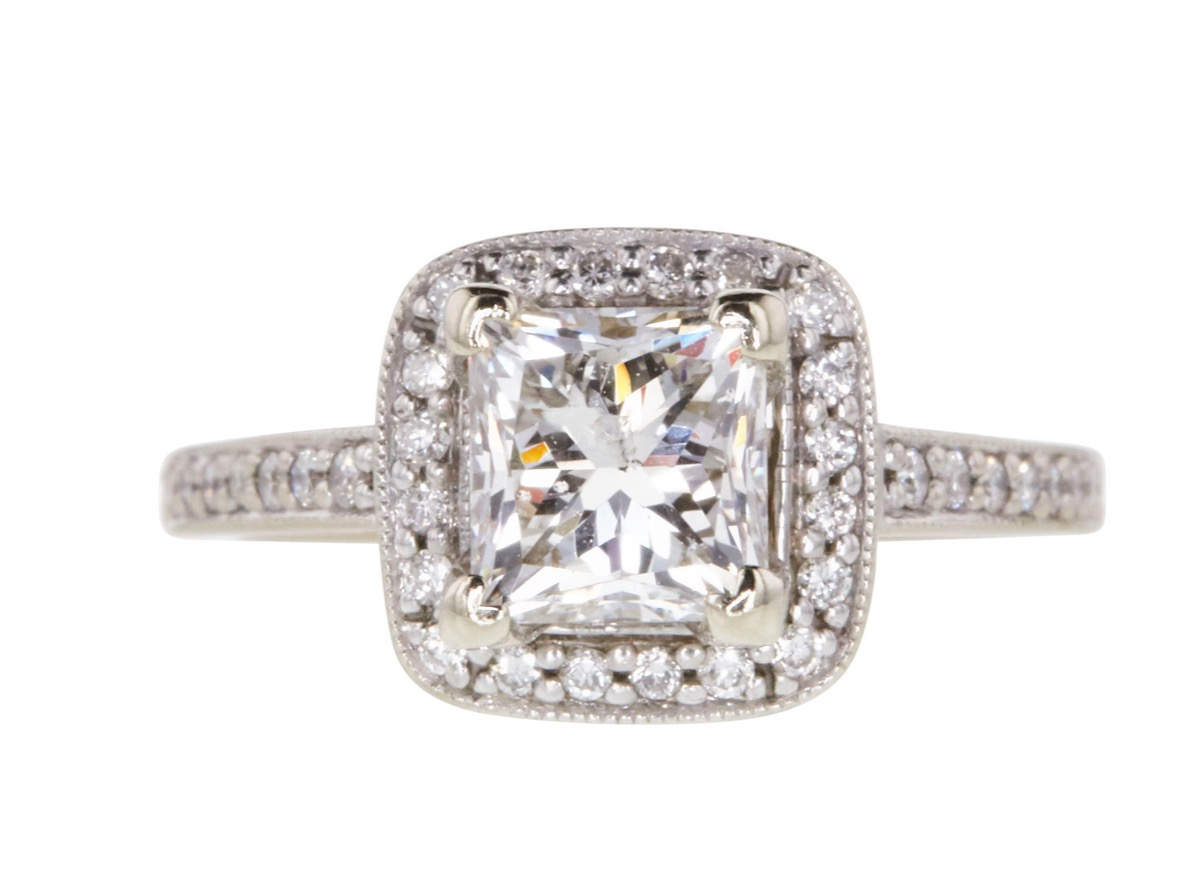Jared 1 23 Ct Princess Cut Make Me An Offer Lets Negotiate I Do Now I Don T