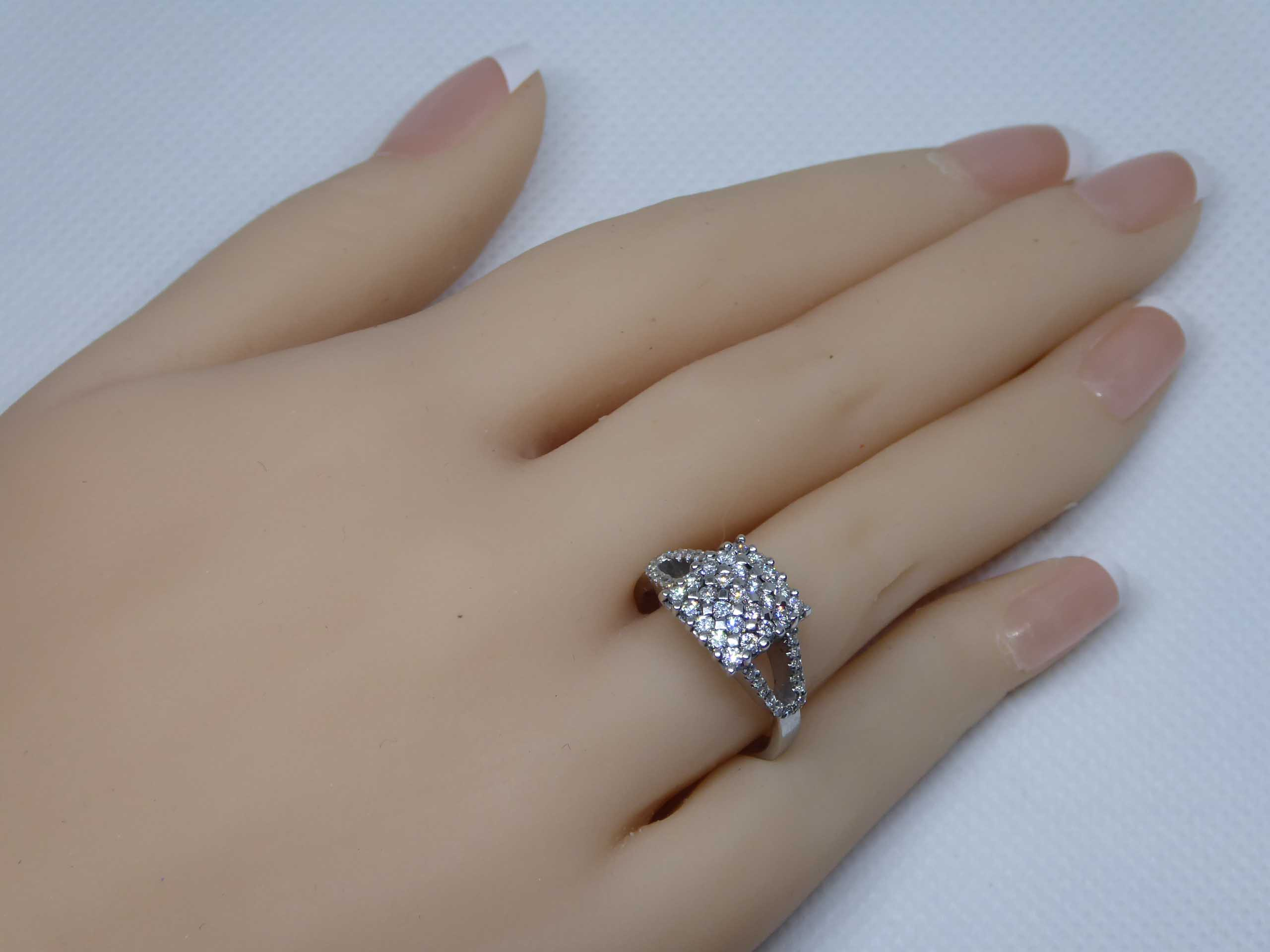 18k White Gold 0.75ct