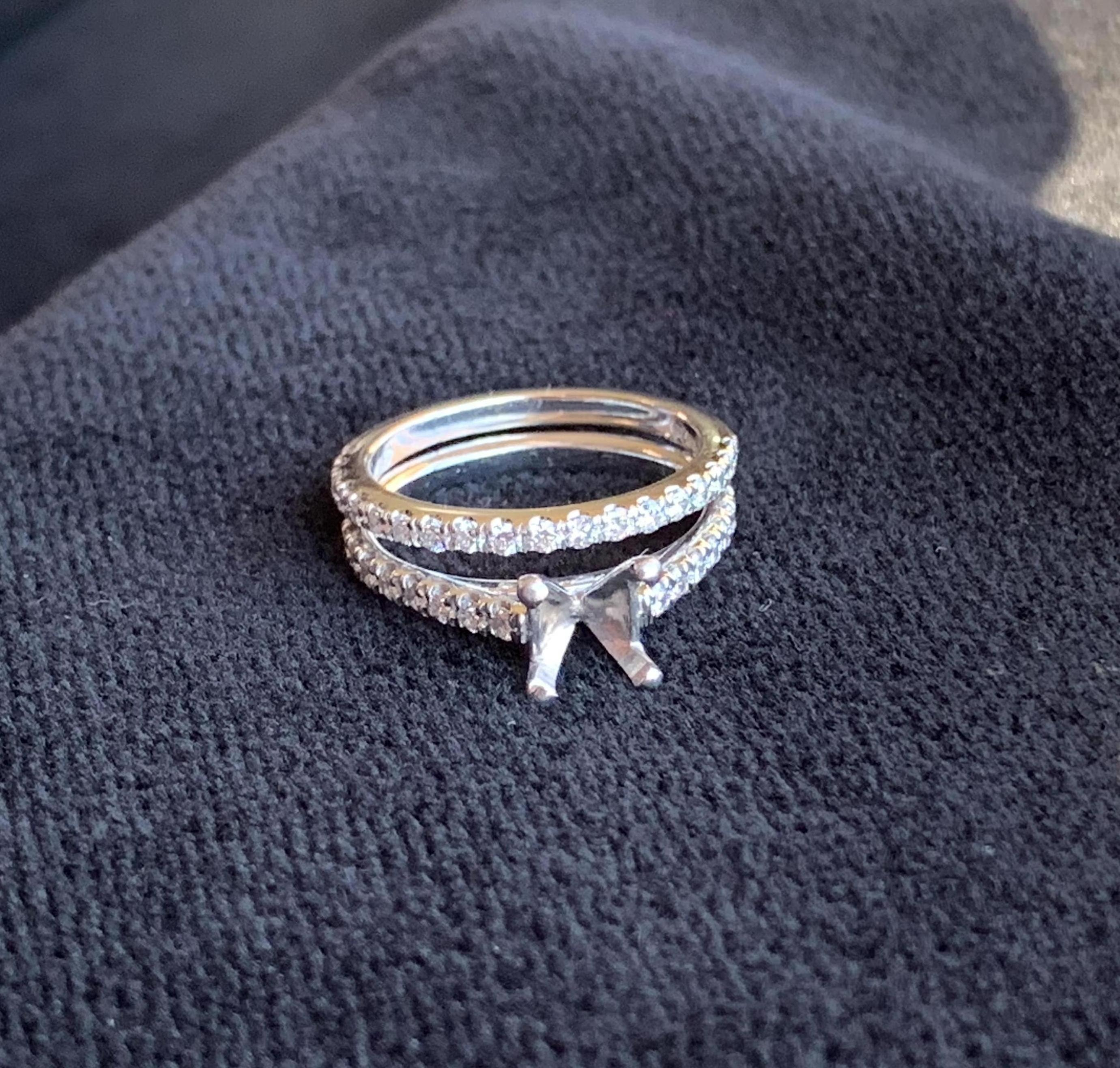 Engagement Ring Setting (Removed