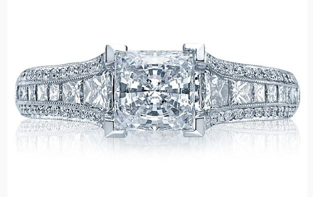 Tacori Princess Cut Diamond