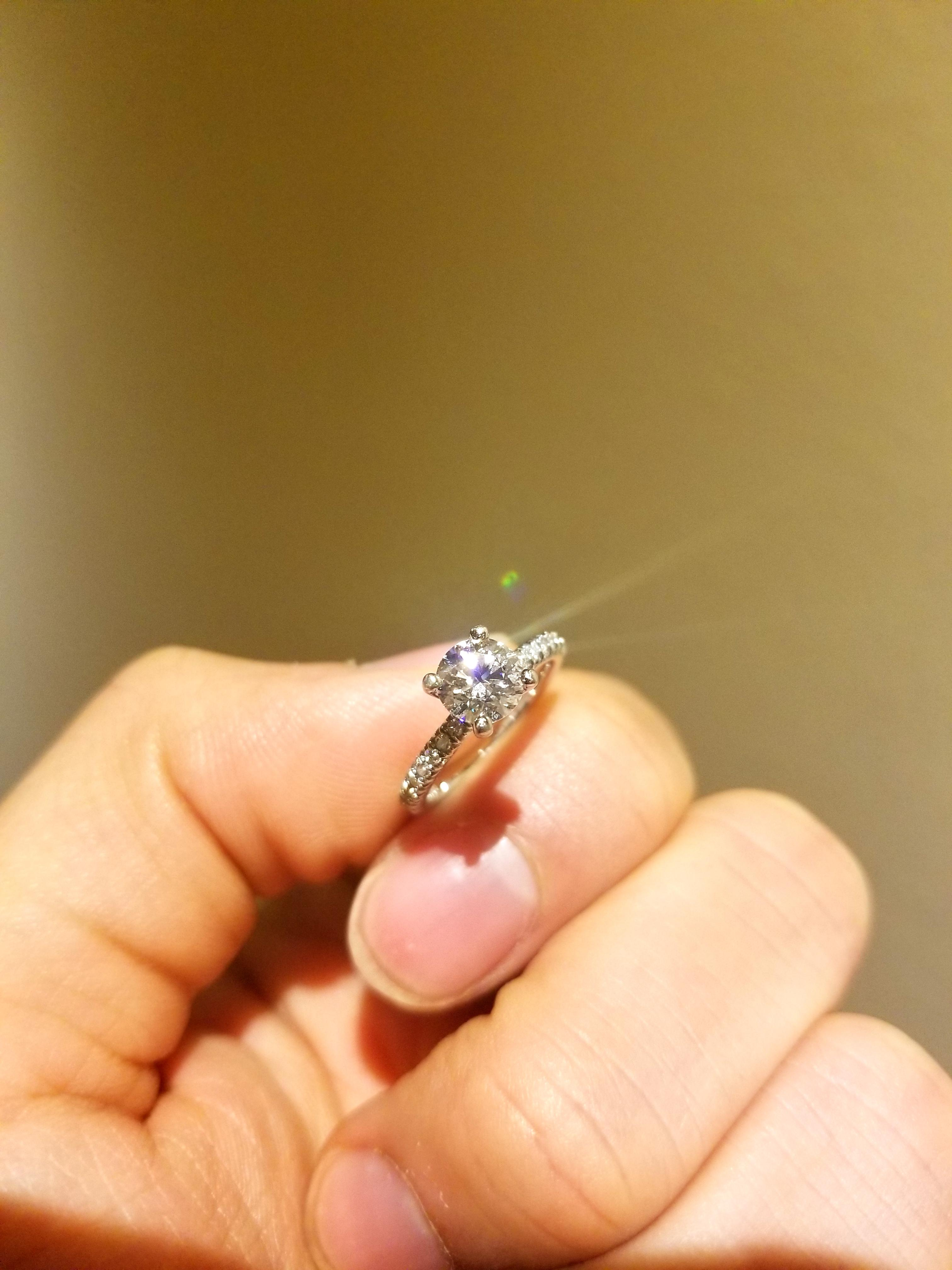Stunning. GIA-certified 0.80ct I