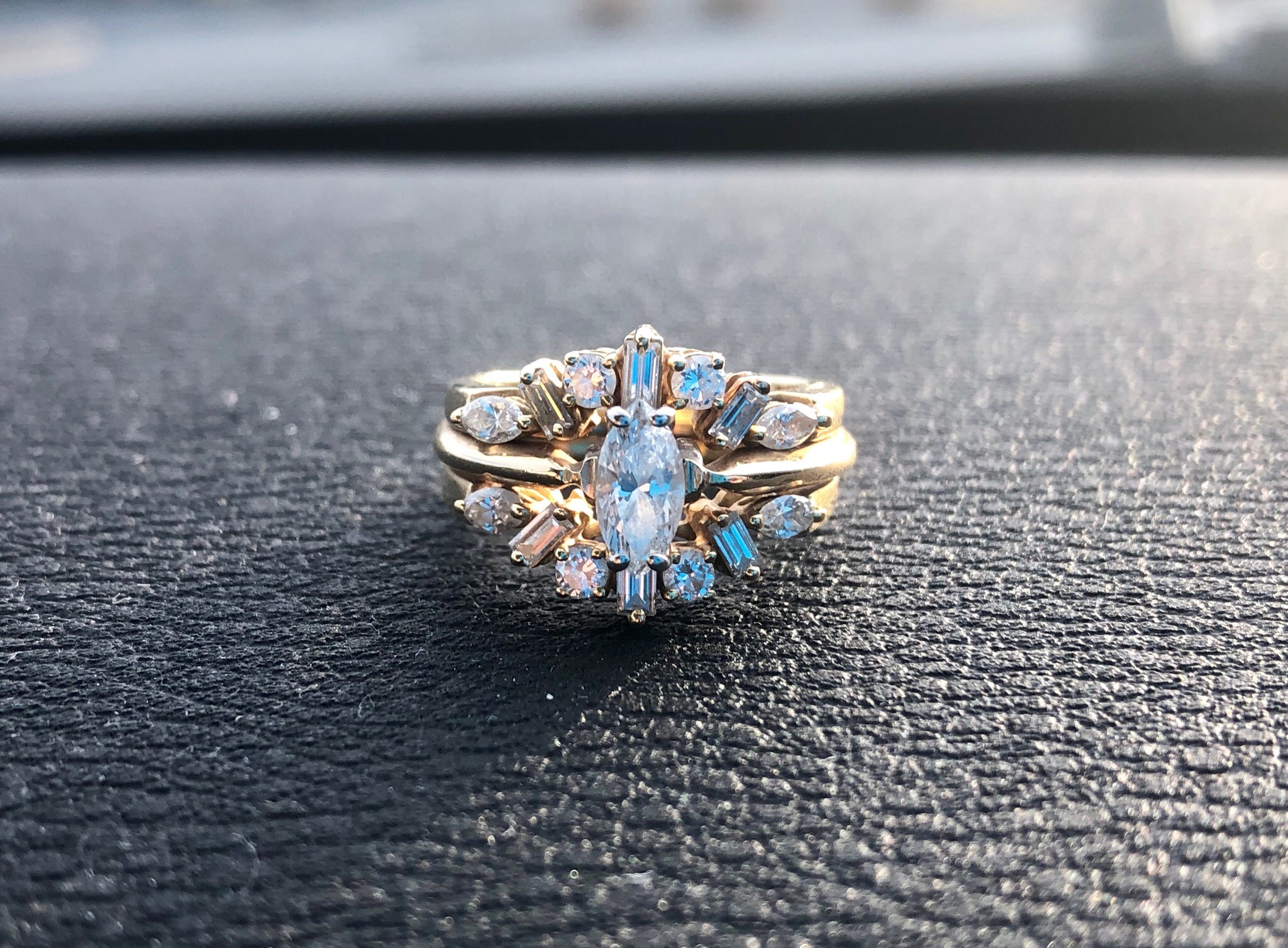 Marquise Cut Diamond with