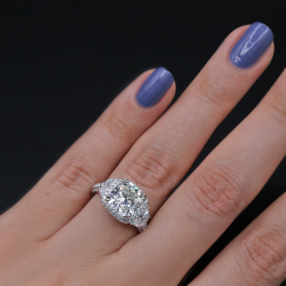 Precious Platinum COCKTAIL RING