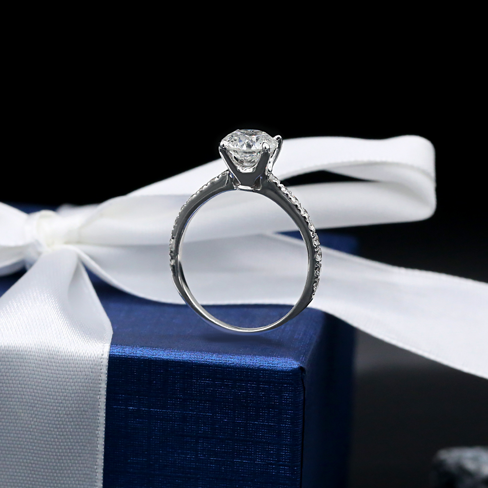 Engagement Ring with 2.15