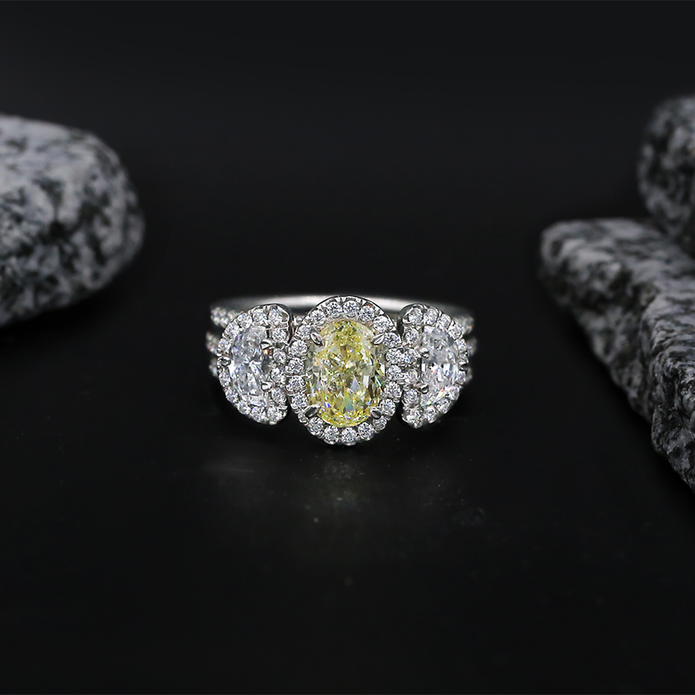 Amazing Platinum Cocktail Ring