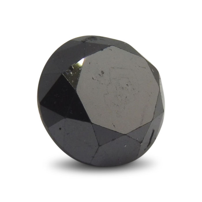 2.4 ct black loose