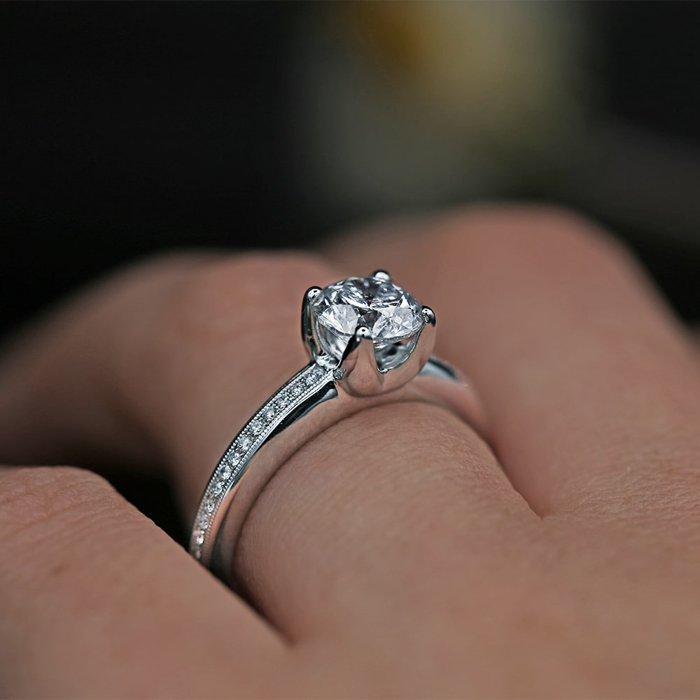 Exclusive 18k White Gold
