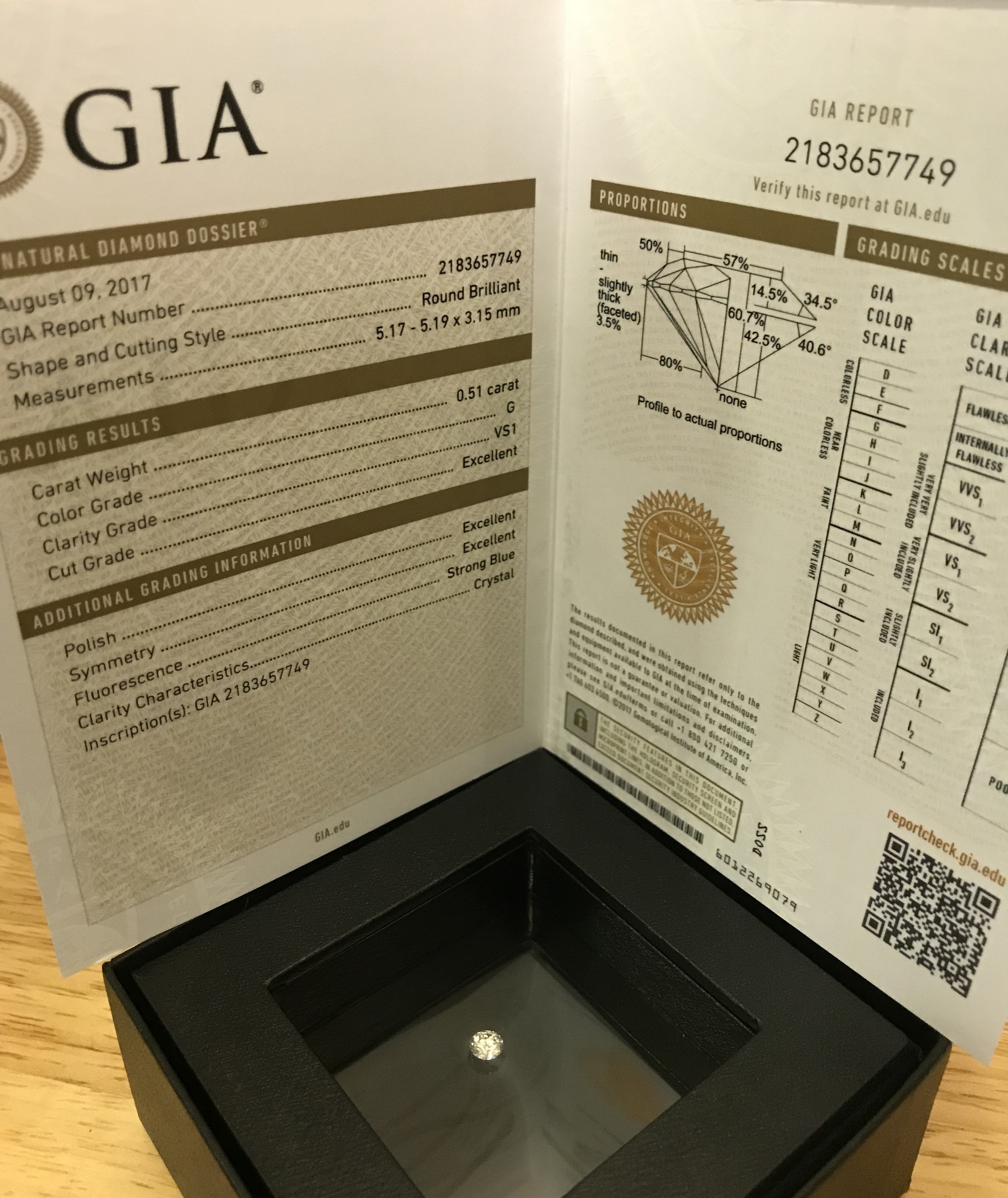 Price lowered! GIA Certified