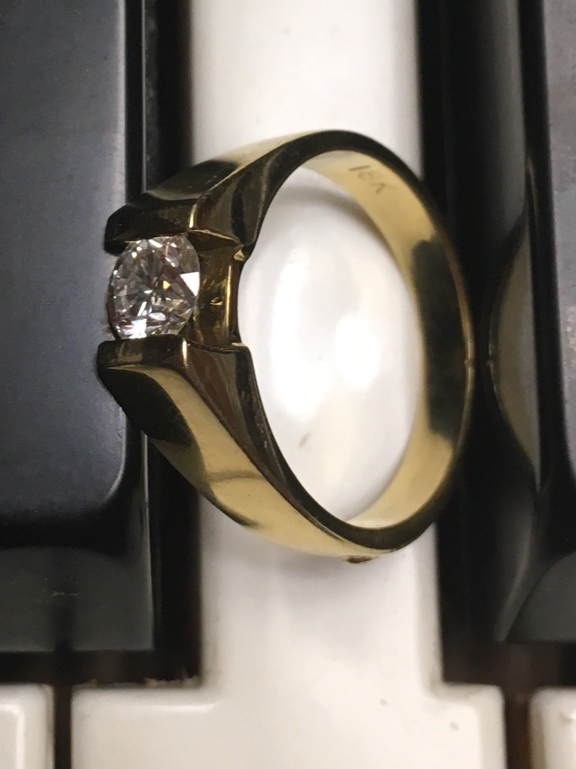 Solitaire Tension Mounted 0.62