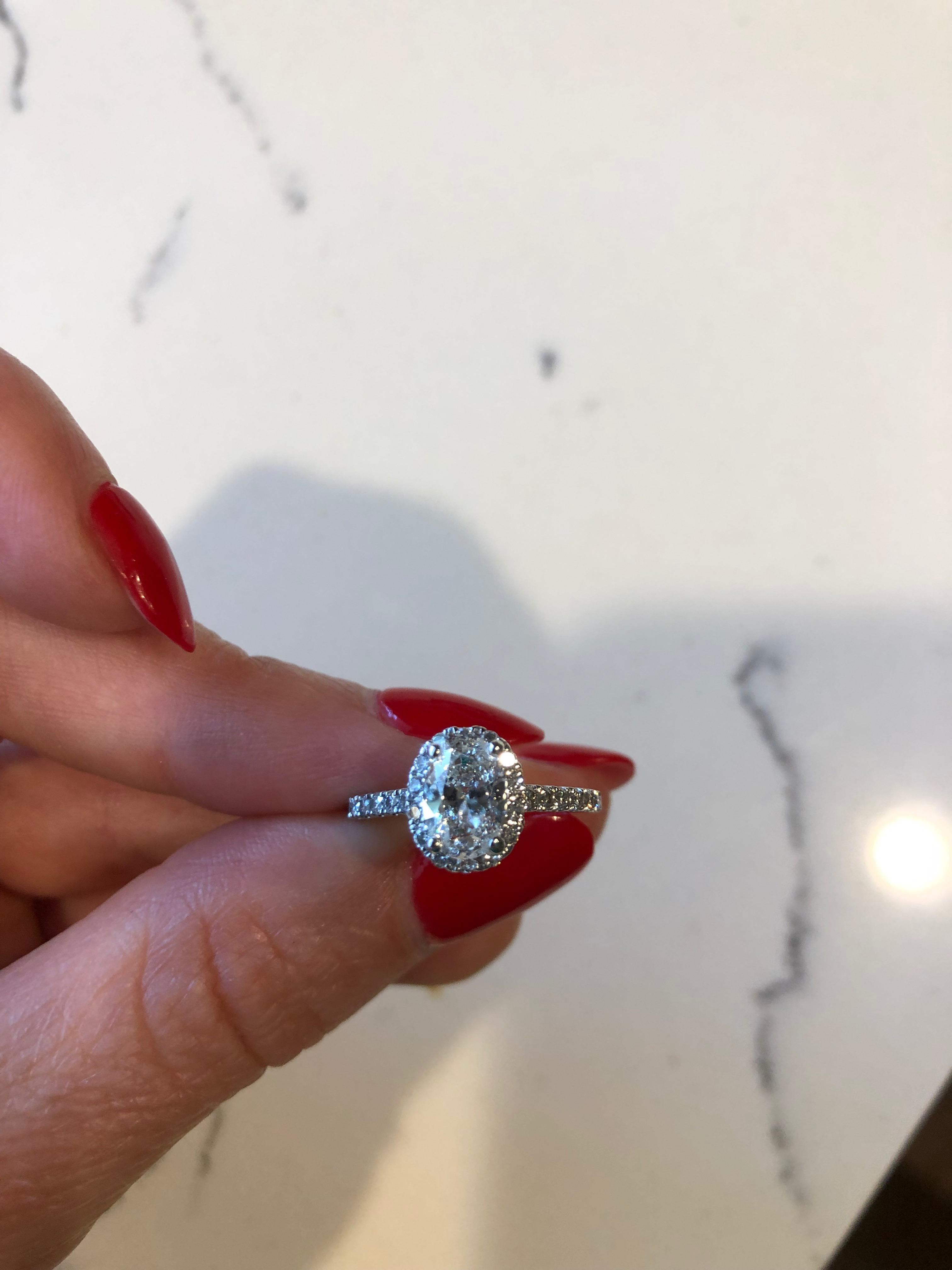 1.39 GIA Certified Oval