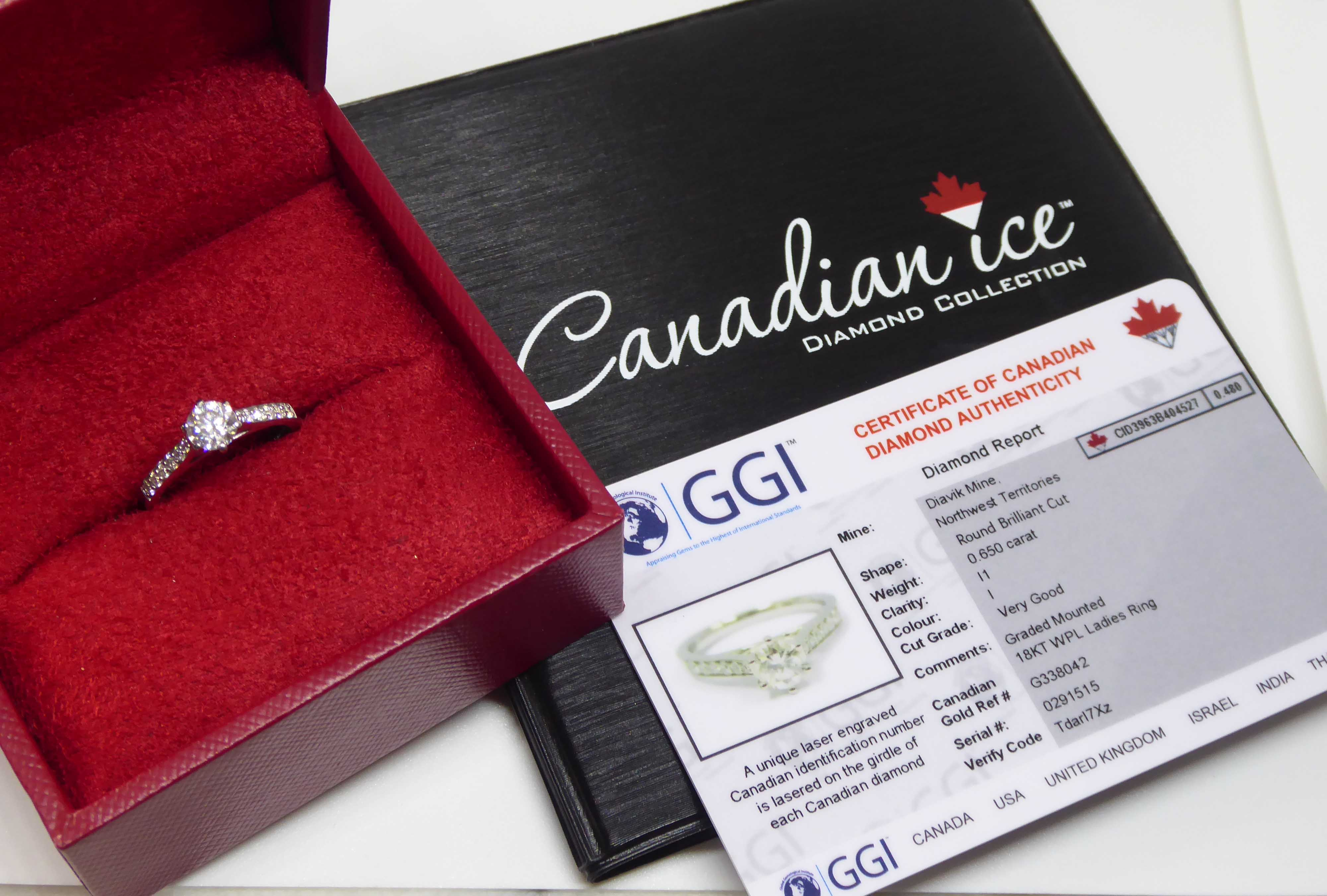 GGI Certified Canadian Ice