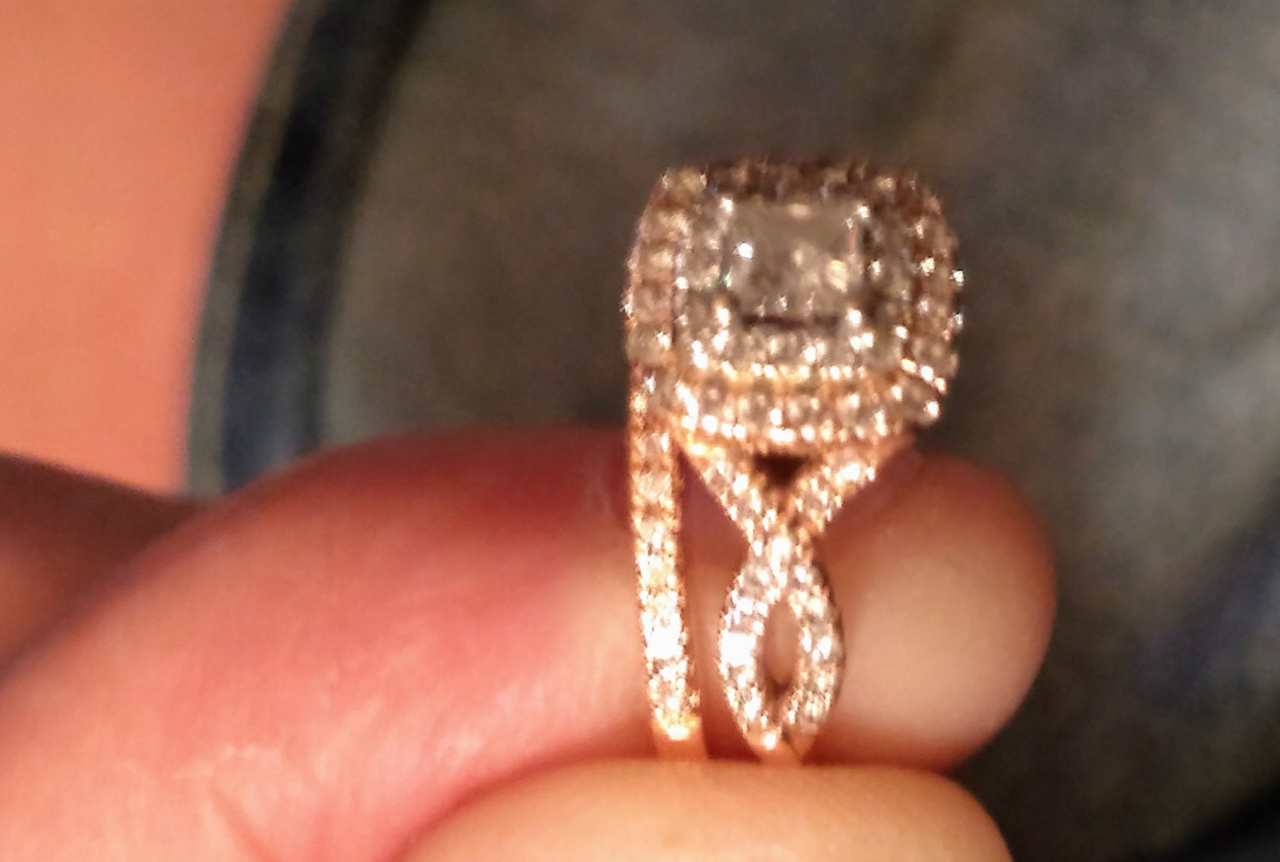 3daaca773 Kay Jewelers Rose Gold Bridal Set | I Do Now I Don't