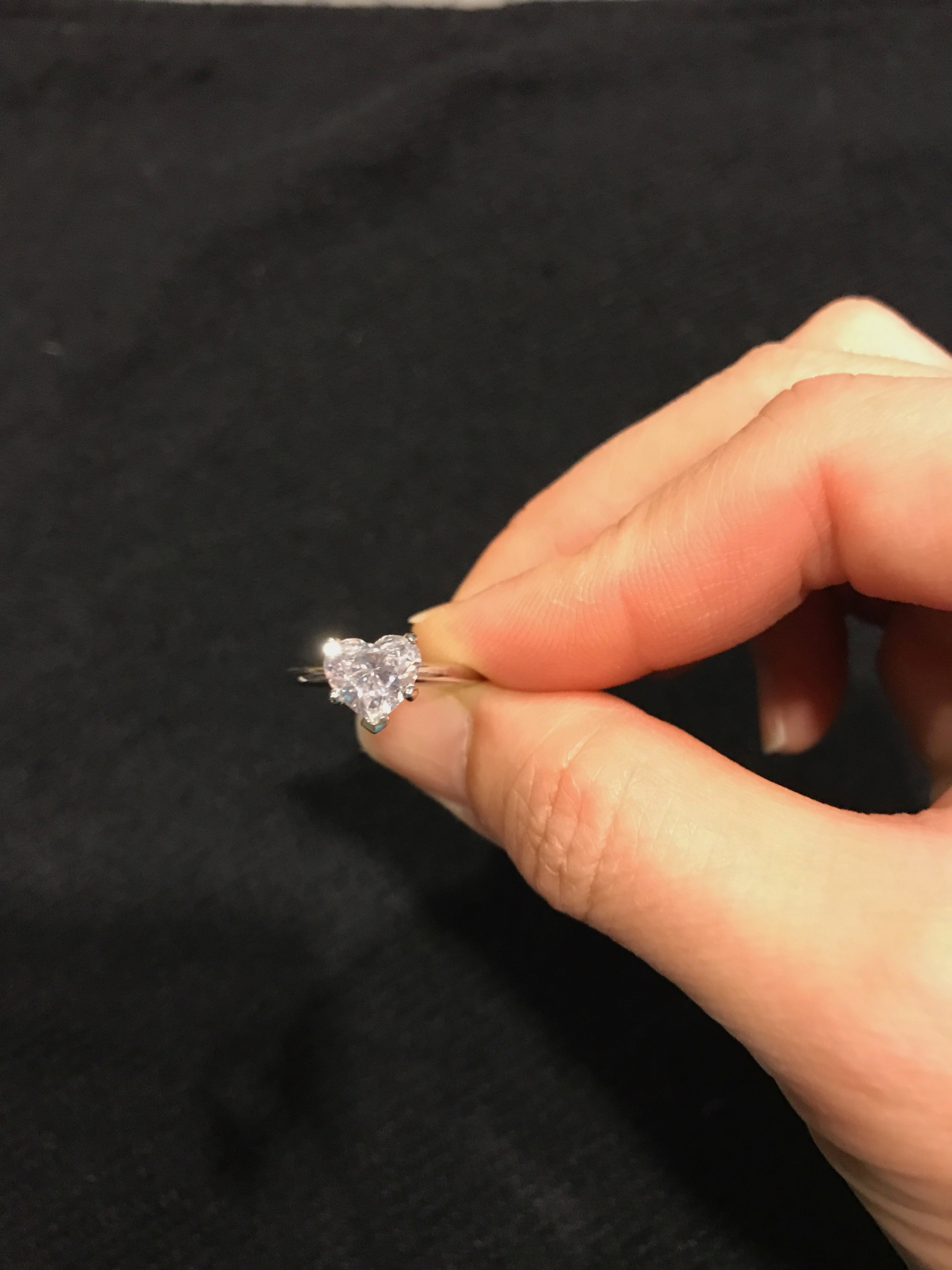 b048240564d 1.72 ct Heart Shaped Diamond in Platinum Solitaire Setting