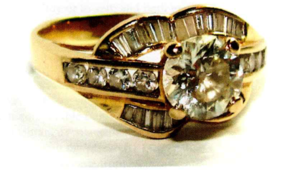 14kt yellow gold old