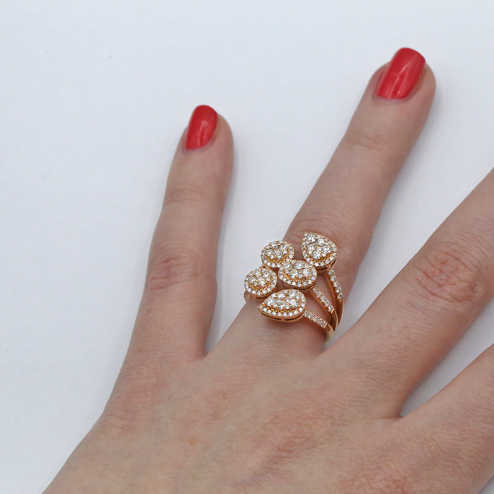 Amazing 18k Rose Gold
