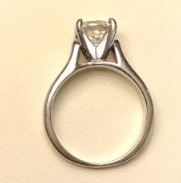 Jared Solitaire 1 51ct Round Diamond On A White Gold Band I Do Now I Don T