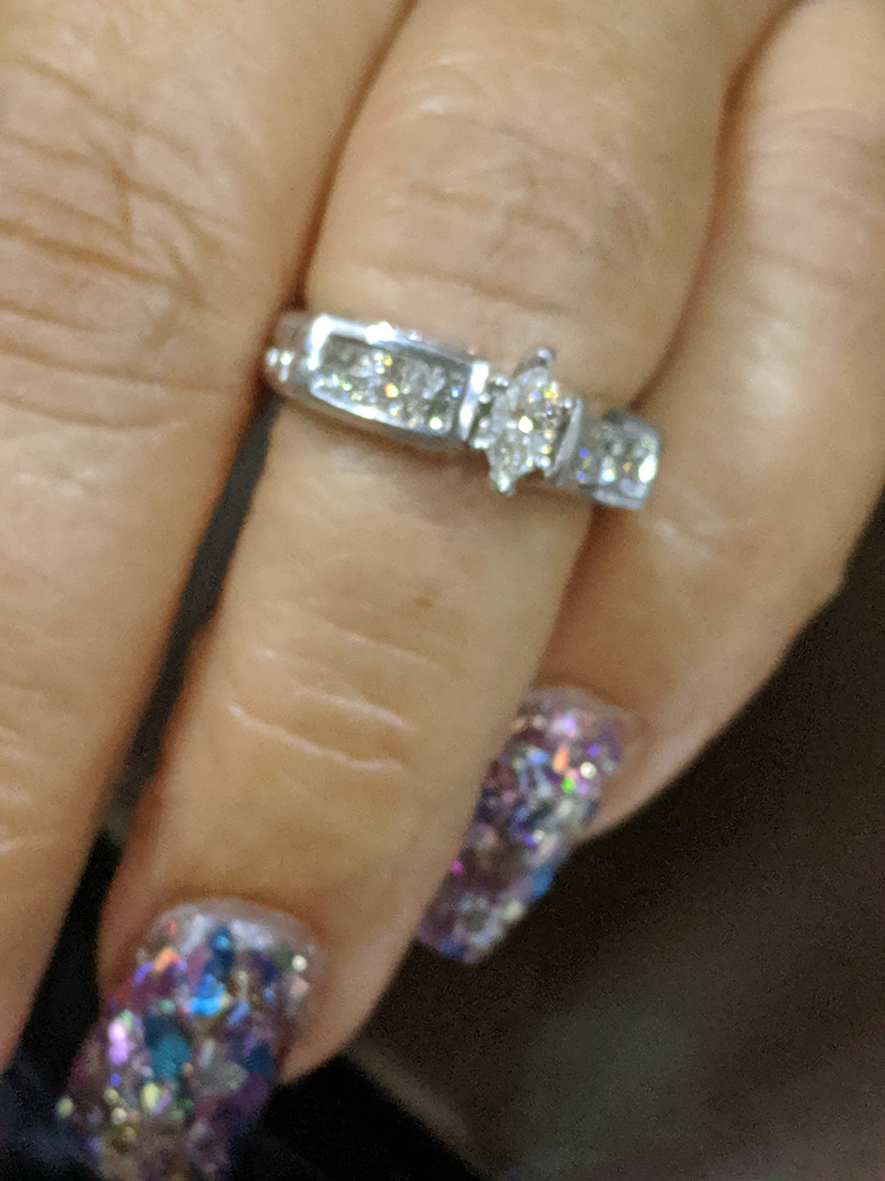 Beautiful engagement ring aprx