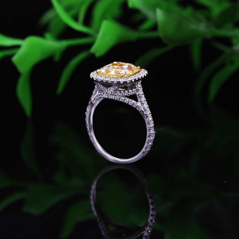 18k White Gold Engagement