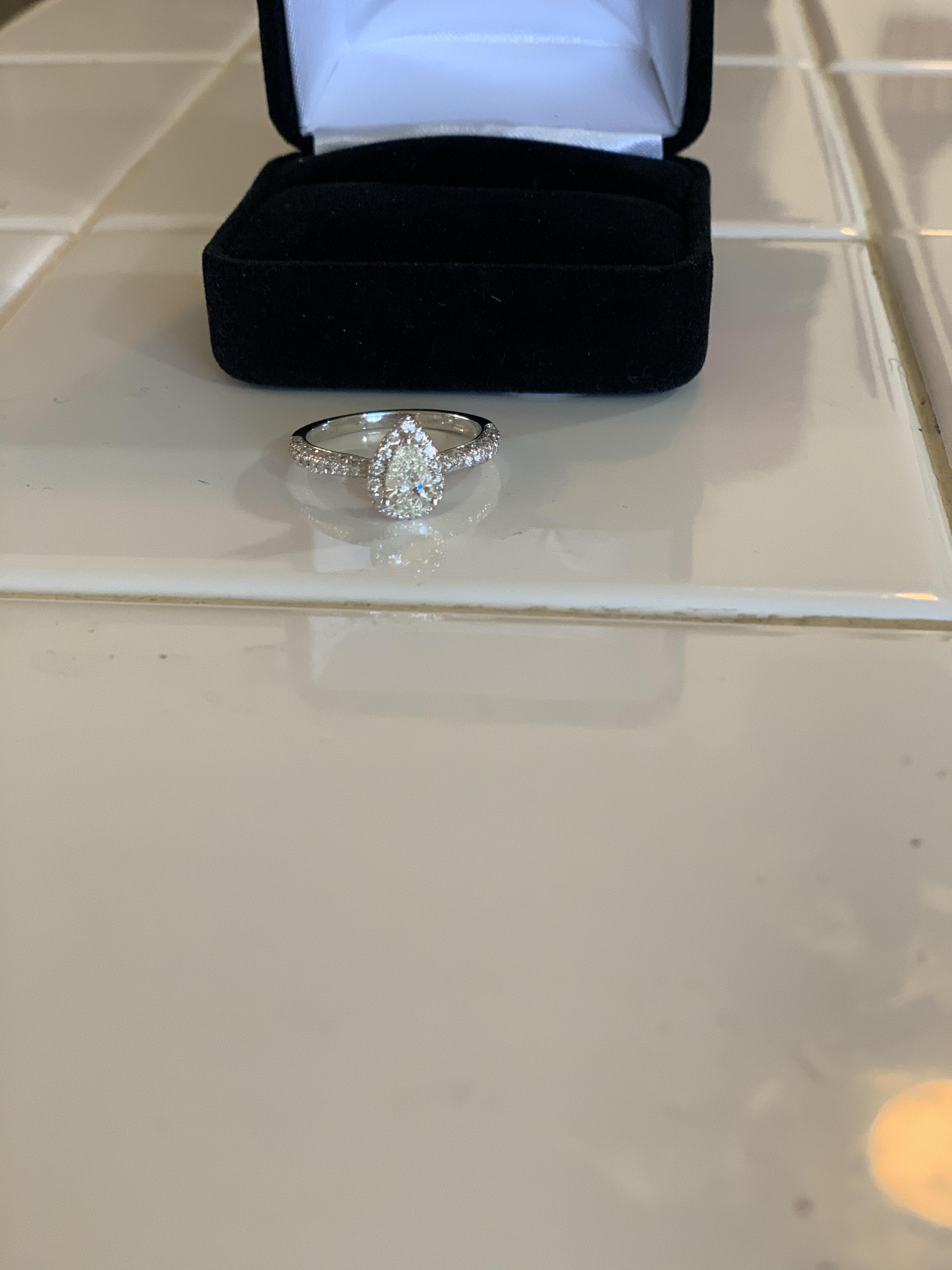 Kay Jewelers Pear Shaped Engagement Rings