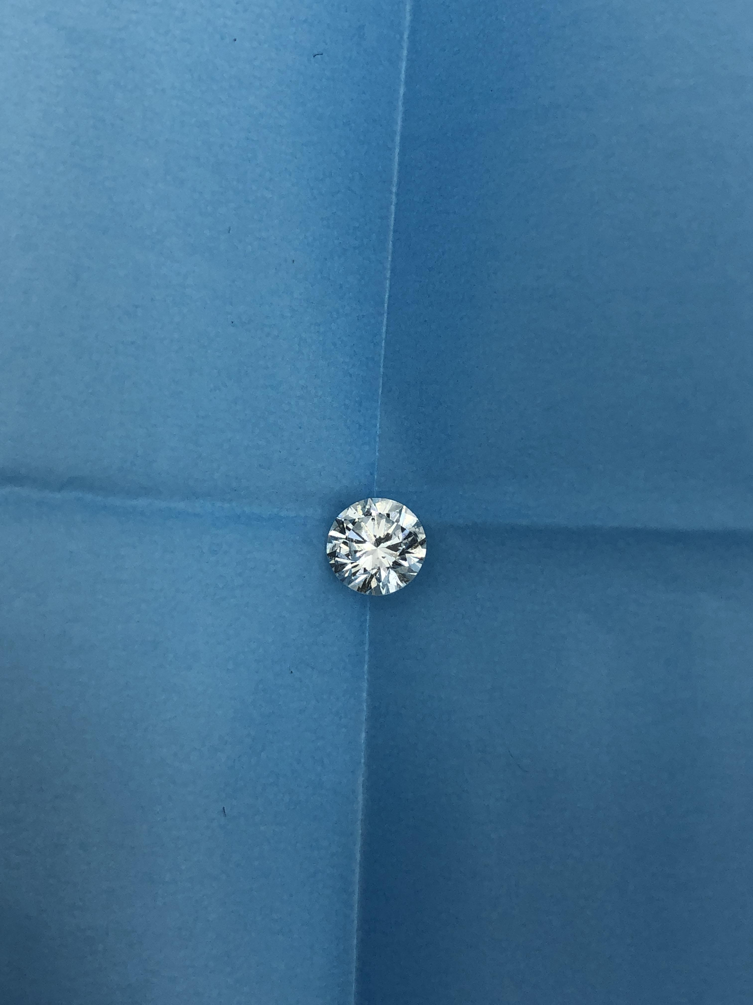 Natural loose diamond