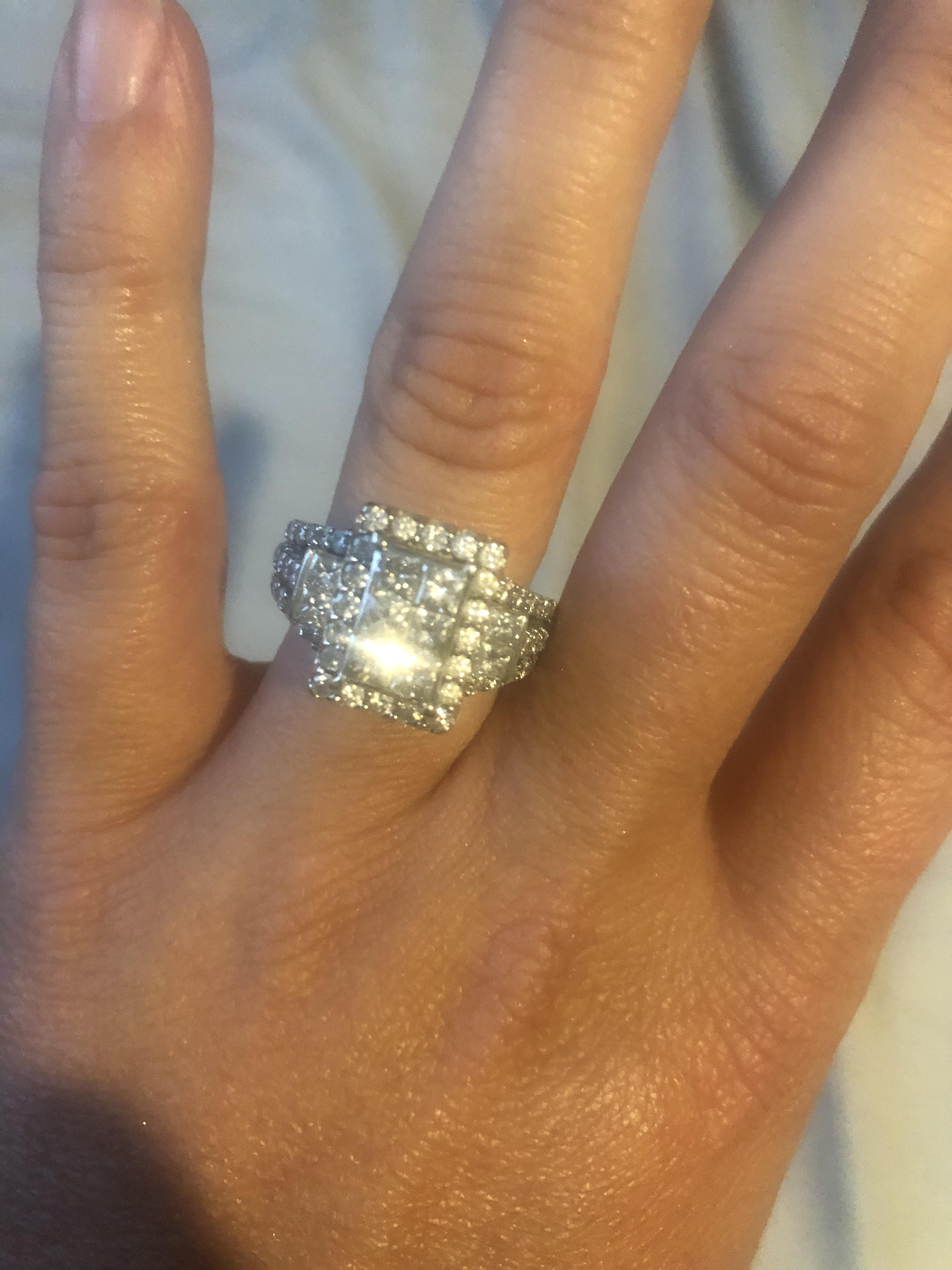 Fred Meyers 2 Carat Princess Cut I Do Now I Don T