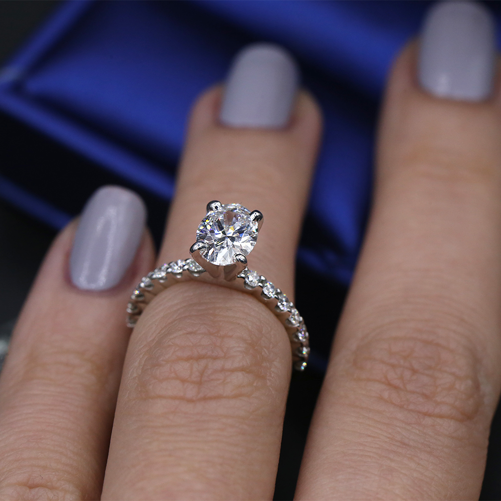 Fantastic GIA certified engagement